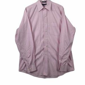 Saks Fifth Avenue Mens 16 34/35 Button Down Shirt
